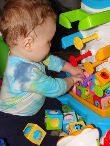 Rollin Rollin Rollin Review Of Fisher Price Roller Blocks For