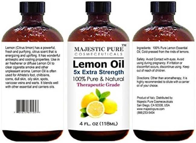 A List of All the Uses I could think of for Lemon Essential Oil
