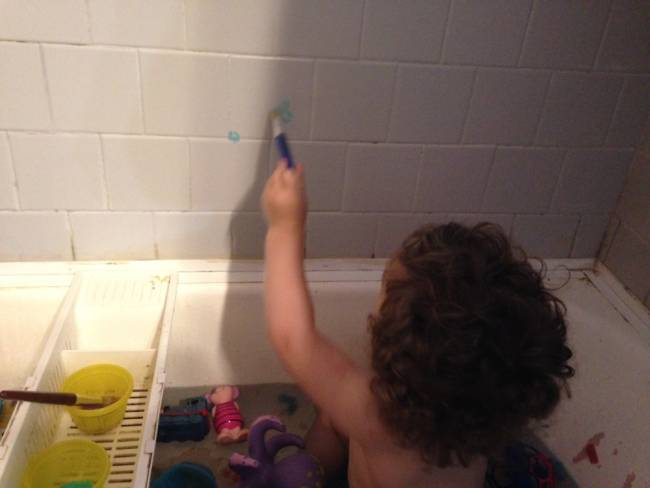 Splish Splash I Was Painting A Bath Review Of Crayola