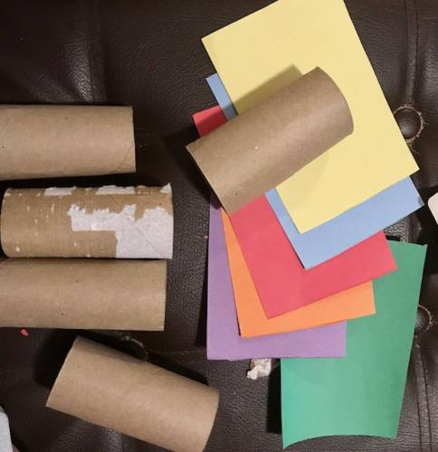 Earth Day Week Recycled Train Craft From Toilet Paper Rolls And A Toothpaste Box Mama Writes Reviews