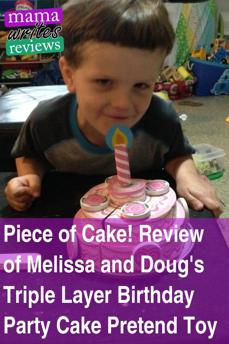Piece Of Cake Review Of Melissa And Dougs Triple Layer Birthday