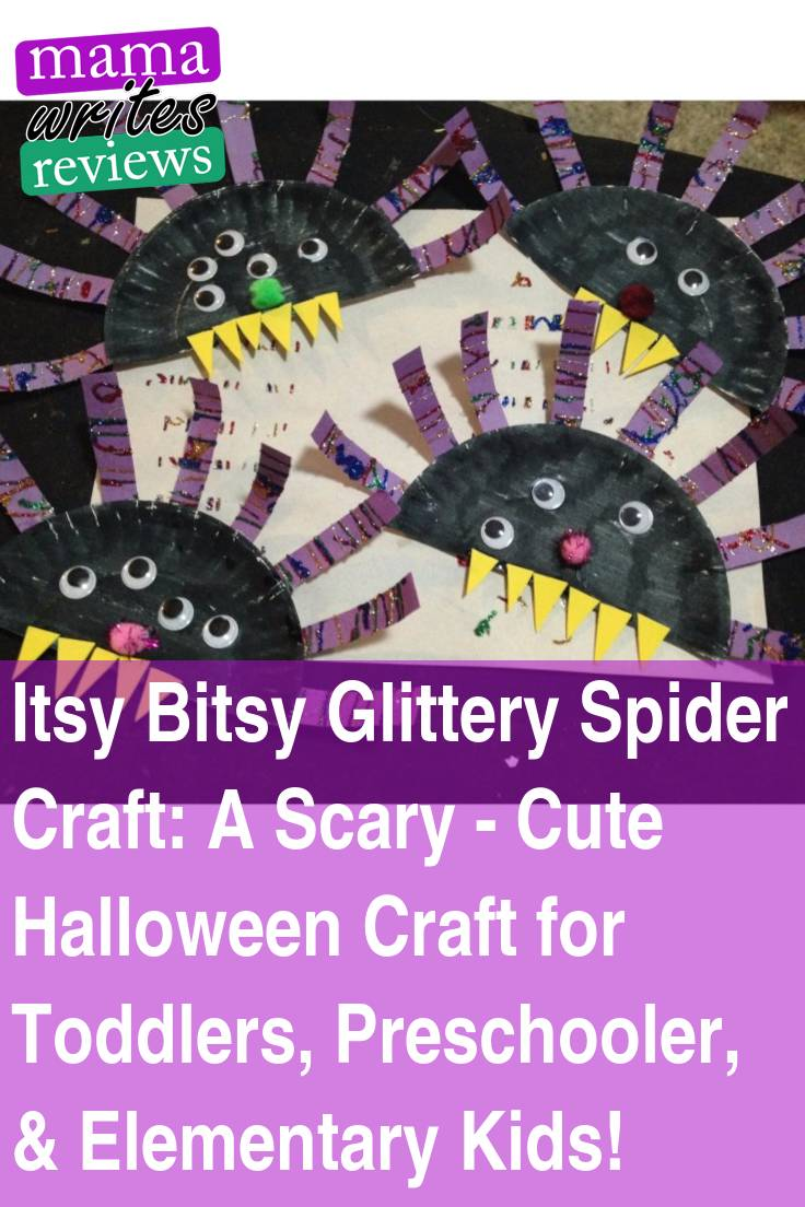 Itsy Bitsy Spider Craft For Toddlers