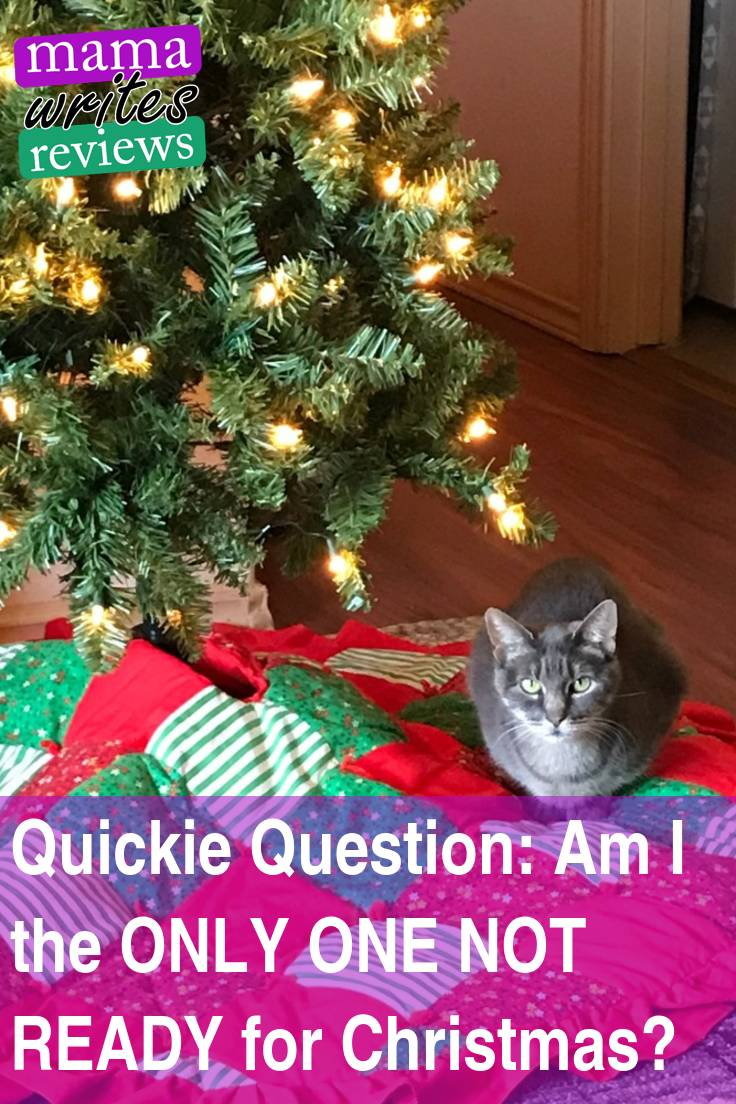 Quickie Question: Am I the ONLY ONE NOT READY for Christmas? | Mama ...